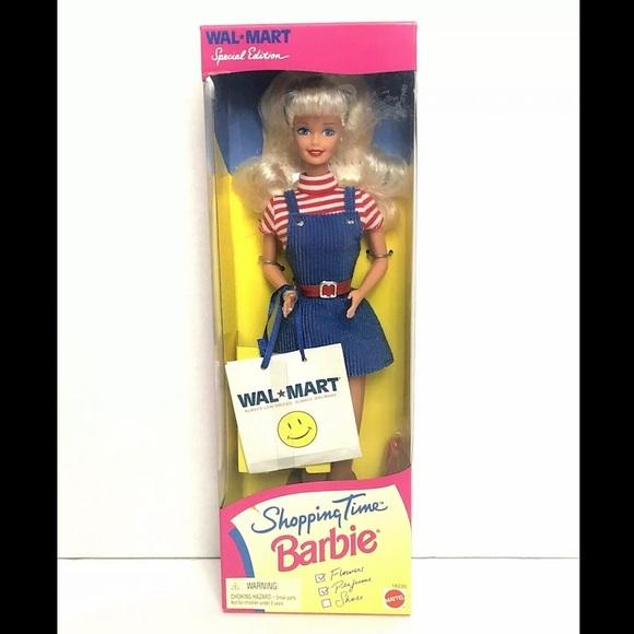 1997 Walmart Shopping Time SE Barbie Doll NRFB